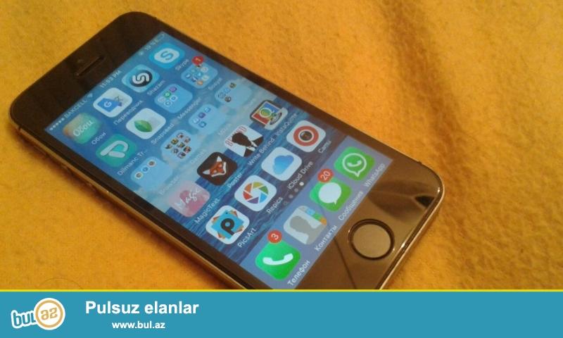 İphone 5s satılır telefon yaxşı vəziyyətdədir ...