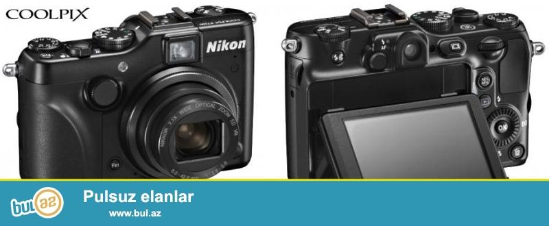 Nikon CoolPix P7100 yenidir karopkasi cantasi var