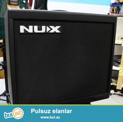 Mehsur NuX firamsina mexsus Acoustic 30 modeli. Akustik gitara ucun nezerde tutulmush effektli ses guclendirici...