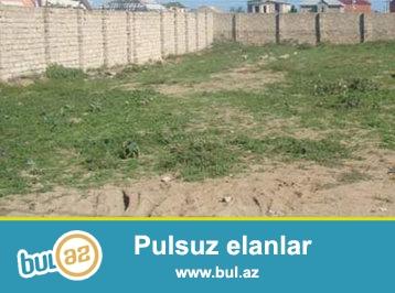 Buzovna qəsəbəsində, Albalılıq tərəfdə 3 sot torpaq sahəsi - SATILIR...
