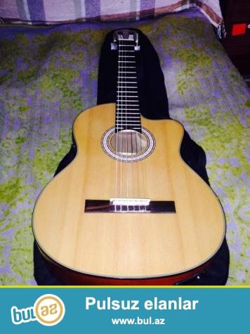Klassik ekvalayzerli masterwork markali kesikli gitara satiram (model _ LC-3971CN )...