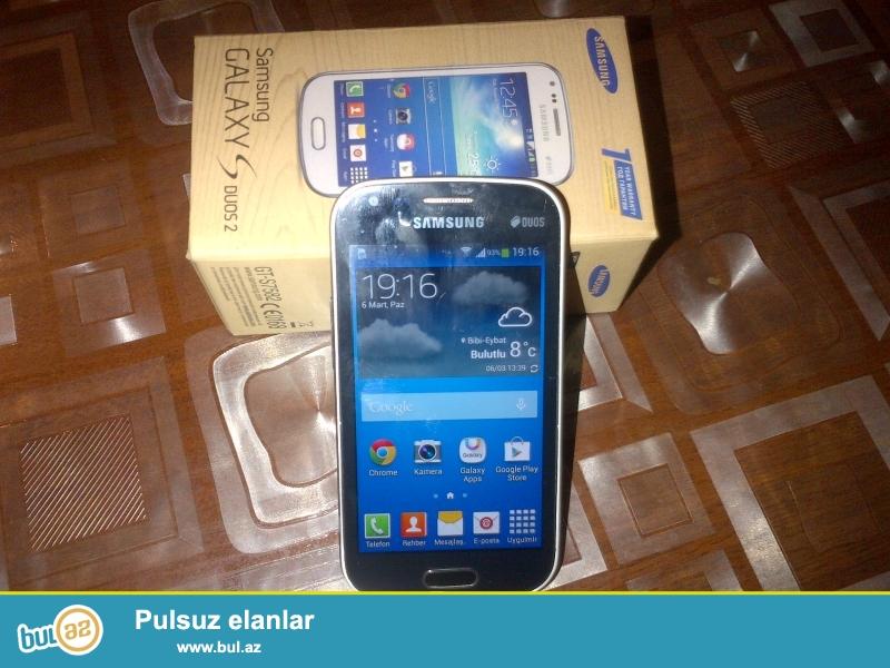 Samsung Galaxy S Duos GT-S7582.        2 ayin telefonudur tecili pul lazimdir deye satiram...