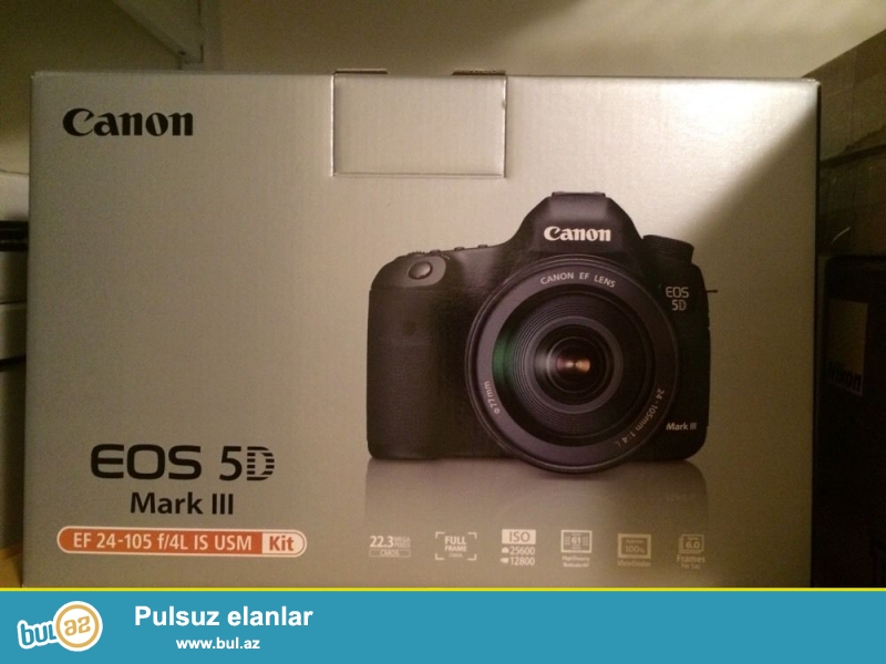 Canon EOS 5D Mark III 22.3 MP Digital SLR Camera<br />