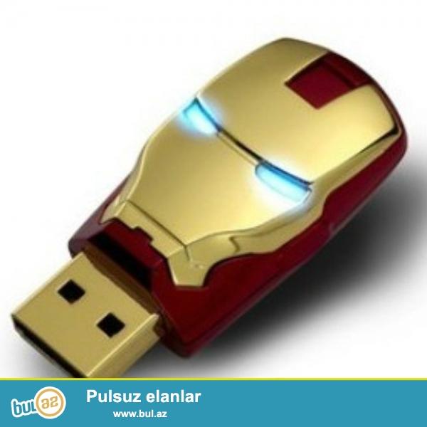 flash card (iron man) 64 gb satiram qiymeti  30 azn
