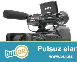 Peşəkar video çəkiliş, Nişan,Xına,Ad günü,və xoş günlərinizin video çəkilişi, <br /> üzrə xidmətlərimizi təklif edirik Video çəkiliş Full HD formatlı rəqəmsal video kamerayla həyata keçirilir...