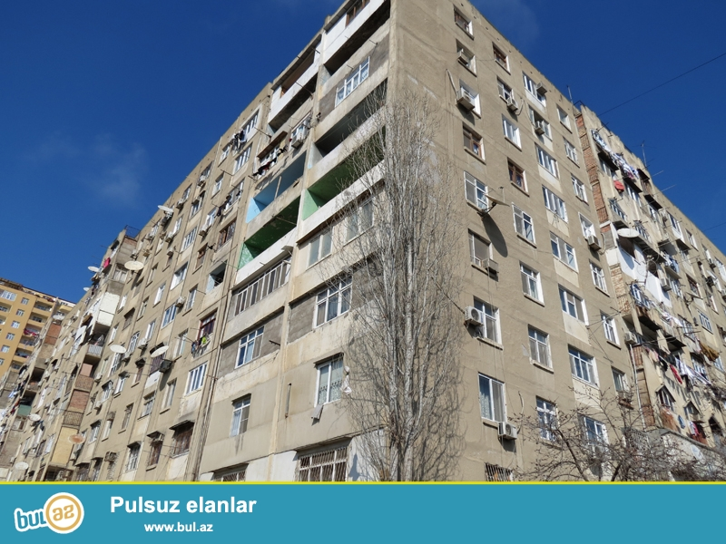 H.Aslanovda Mehemmed Hadi-103 unvaninda KVADRATLAR adlanan binalardan 3-cu Kvadratda tam 4 otaqli menzil satilir...