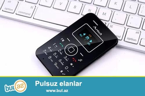 Yeni.Çatdırılma ulsuz<br /> <br /> Anica A1 Ultranazik kredi kartı boyda telefon...
