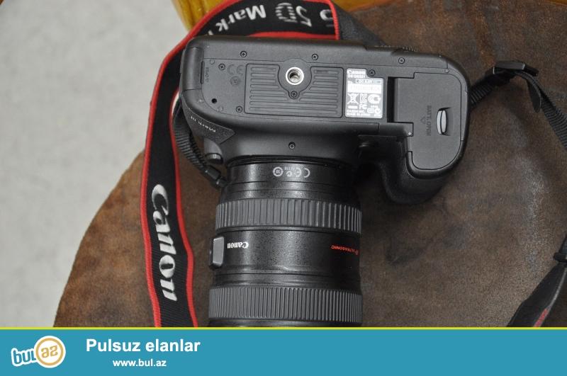 EF 24-70mm f Canon EOS 5D Mark III Kamera / 4L USM Lens Kit IS.<br /> <br /> istifadəçi manual:<br /> Brand Canon<br /> Model 5D Mark III<br /> Əsas Xüsusiyyətlər<br /> Camera növü Digital SLR