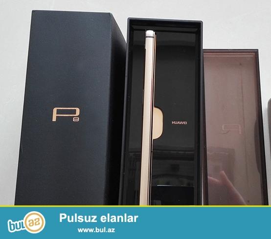 Təzə Huawei P8 gold Satıram.