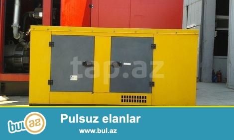 Ikinci el generator İngiltere istehsali 245 kv, dizelle calisir, kabinali, avtomotik...
