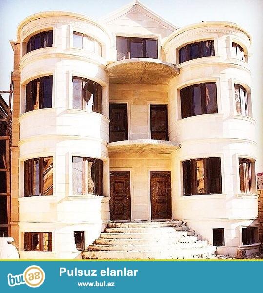 Podmayak  5 Otaqlı 4 Mərtəbəli  Villa  satılır...
