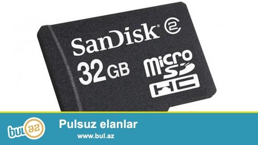 micro card satiram <br /> <br /> 128 gb - 35 azn<br /> <br /> 64 gb - 25 azn