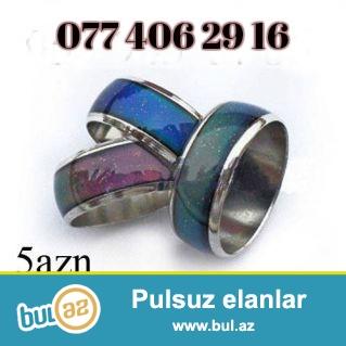 Rəng dəyişən üzüklər əhval Ruhiyə üzükləri...