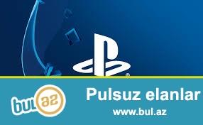 Playstation 3 ve 4 akkuant oyunlar satilir , her cur oyun var yeni ve kohne                                                              tel 055 932 00 20                                                                    Emin