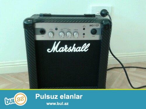 Marshall VoX Fender NuX Ibanez kimi tanish konbik anfi simli aletler gitar ucun ses guclendiriciler...