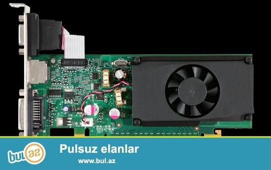 işlənmiş pc ya video kartlar<br /> nvidia 1gb 64 bit<br /> işlək vəziyyətdədir heç bir problemi yoxdur 10ədəddir