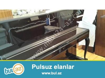 ela veziyetde cexiya istehsali Petrof, rusiya istehsali Fantaziya, ag rengde Ukraina pianinolari satilir...