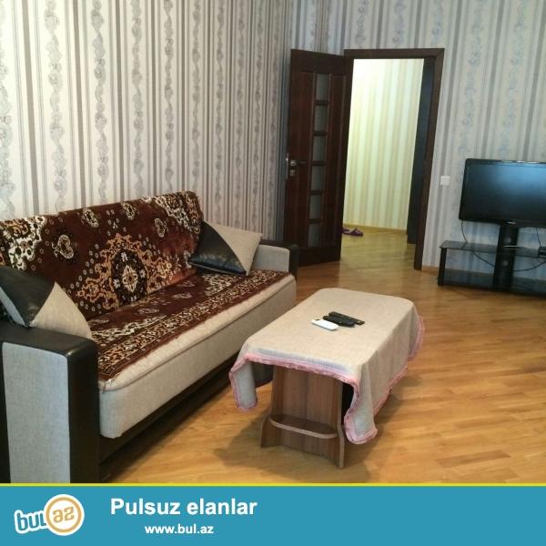 Новостройка! Cдается 1 комнатная квартира в центре города, в Cабаильском районе, в поселке Патамдарт, рядом с «Bazarstore»...