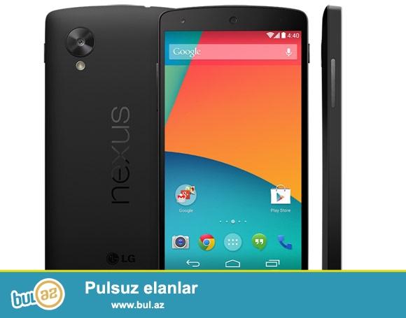 LG Nexus 5 tecili satiram, oz qiymeti 450 AZN 1 defe ustada olub, arxasi acilib, indi ela veziyyetdedir, sadece tecili pul lazim olduqda satiram...