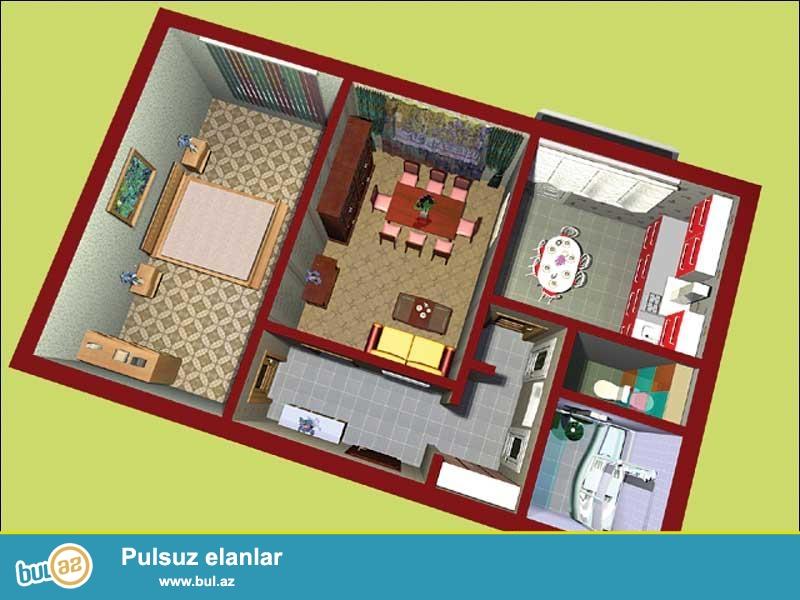 Evlərin,villaların,obyektlərin,interyerin 3D dizayn formatında layihələndirilməsi çox ucuz qiymətə Cork House MMC də, 1 kv/metri cəmi 10 manata...