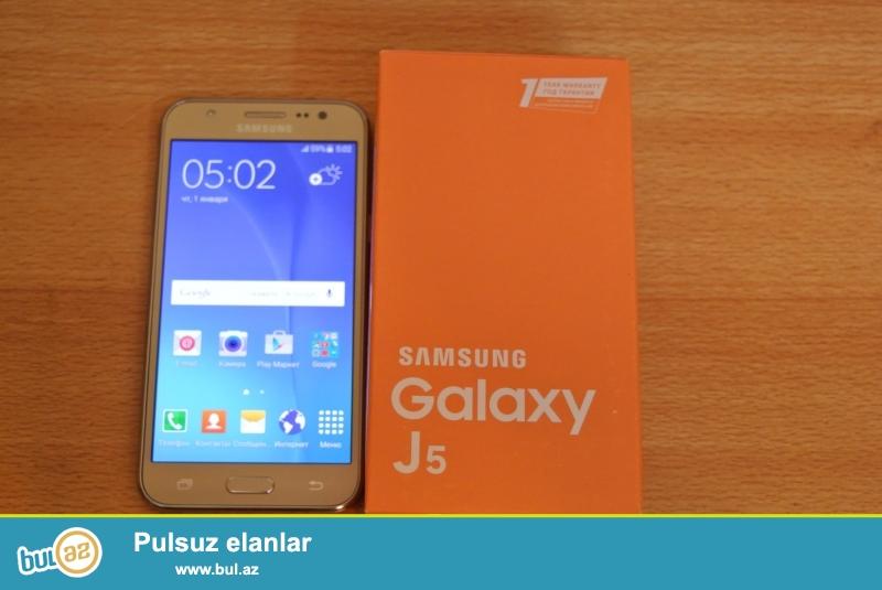Samsung J-5 Yeni karobkada veziyyetde 3 aydi alinib...