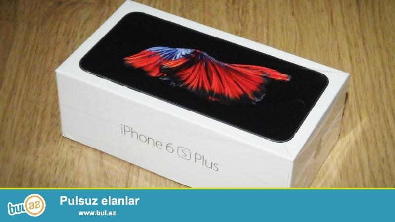 New Apple iphone 6s Plus 64GB tam aksesuarları və 12 ay zəmanət ilə qutusuna möhürlənmiş etmişlər<br /> Skype: electronics...