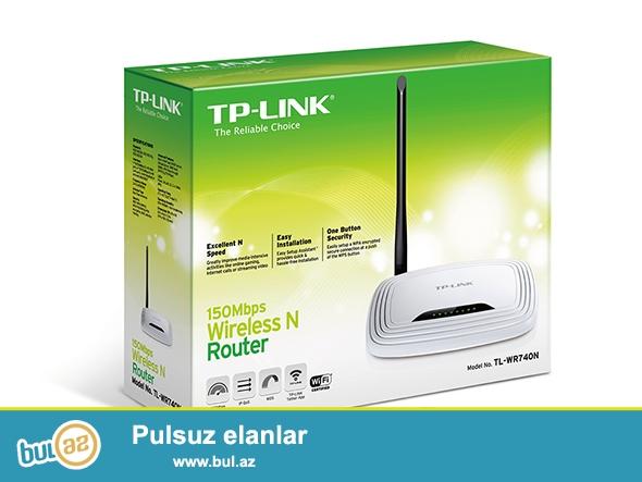 Router satılır. Fiberoptik və kabel internet üçün idealdır...