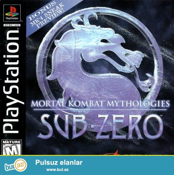 Ps1 oyun diski 4-oyun 1-diskde <br /> Mortal Kombat 1 <br /> Mortal Kombat 2 <br /> Mortal Kombat 3 <br /> Mortal Kombat 4<br />