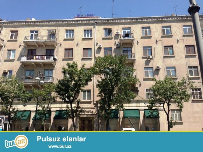 Cдается 3-х комнатная квартира в центре города, в Насиминском  районе, по улице Р...