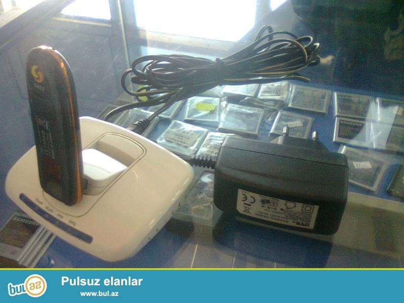 Satilir sazz data kart,wi-fi yida var iki metr adapter kabeli,bir ayligda interneti var,yaqwi tutur,problemi yohtur,tel-070-750-79-79