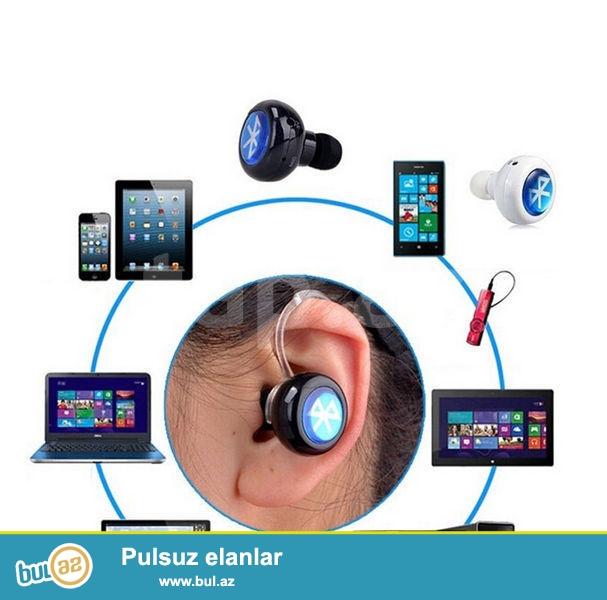 Bakida en ucuz mini blutuz qulaqciq.Bluetooth Bütün telefonlar üçün...