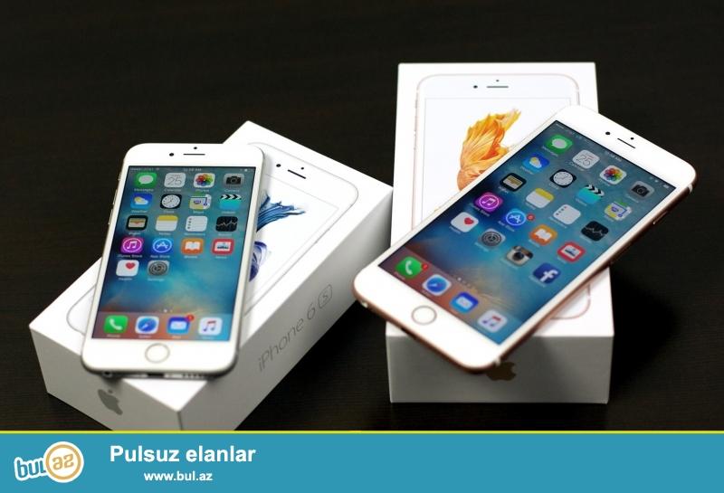 Iphone 6s ve 6s plus satilir 200 ve 250 azn. birebir kopyadirlar podorginal AAA klas keyfiyyete malikriler menyu ve xarici parametrler 1e1 kopyadir...