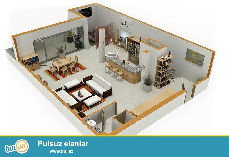 Cork House MMC de interyer,ev,villa,obyektlerin 3D formatinda dizayn ve layihelendirilmesi inanilmaz qiymete, 1 kv/metri cemi 10 manatdan...