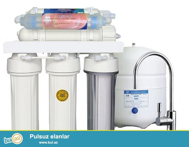 Təklif etdiyimiz aparatlar 5 yaxud 6 filterli membran sistemə malikdir...