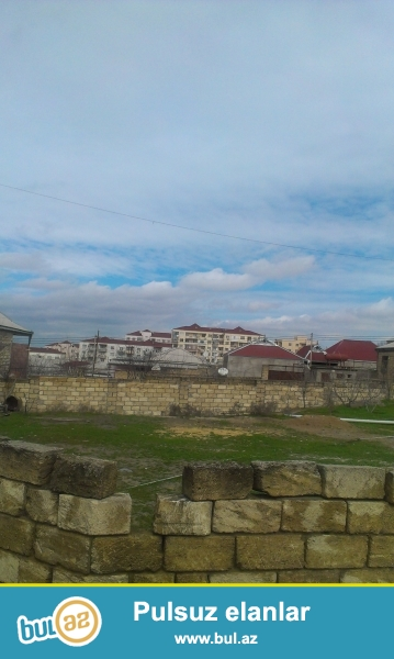 Bineqedi rayonu Çiçək qəsəbəsi  4 sot torpaqi tecili olaraq satıram...
