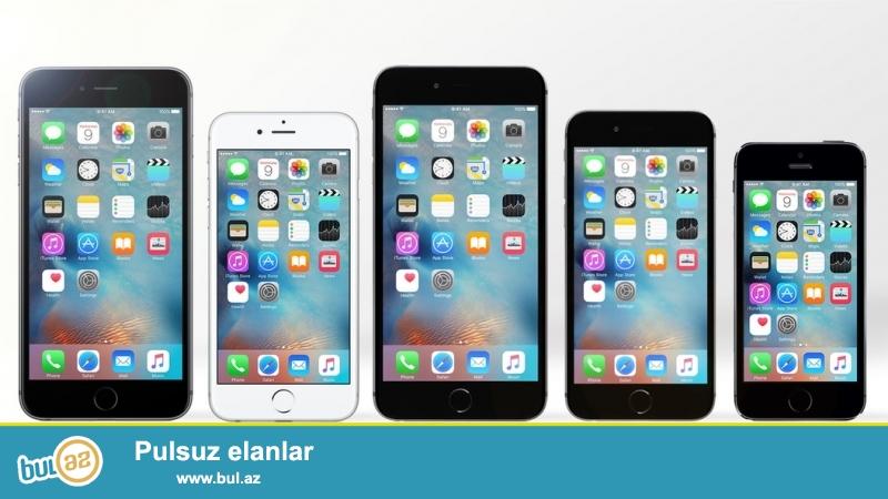 Iphone 5s 6s 6 plus dubayski satiram bire bir kopya <br /> 5s-160 manata<br /> 6s-200 manata<br /> 6 plus -250 manata qutusu ve aksesuarlari her seyi eynidir.