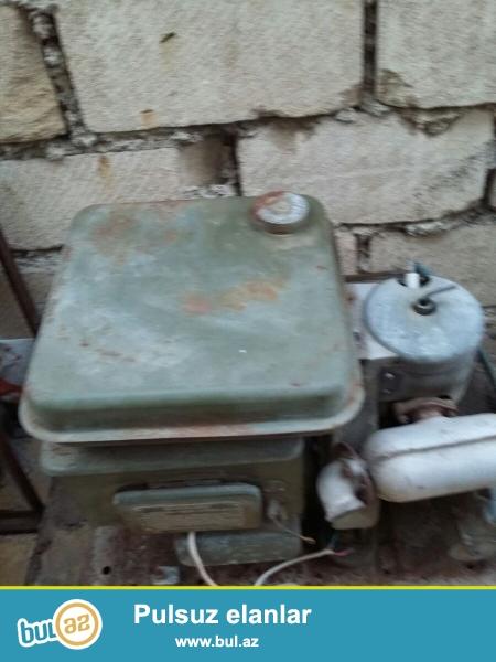 Işıqverən generatoru Sovet vaxtında hərbçilərdən almışdım...