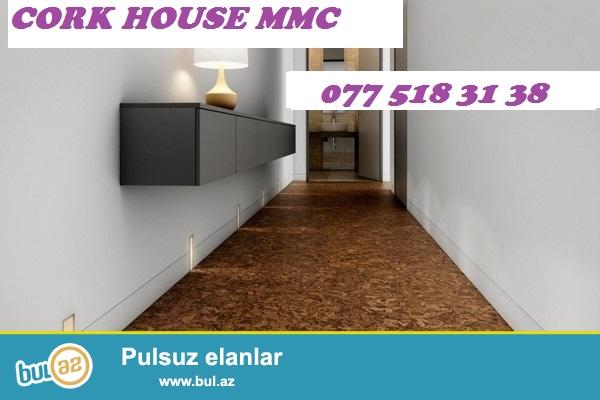 Faizsiz kreditlə təbii divar və yer örtüklərinin sifarişi Cork House MMC də...