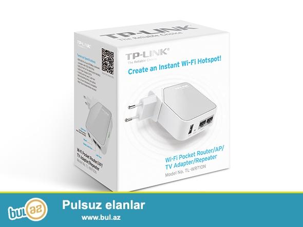 Ev və səyahət üçün nəzərdə tutulmuş, 5 işləmə moduna sahib siqnal gücləndirici router satılır...