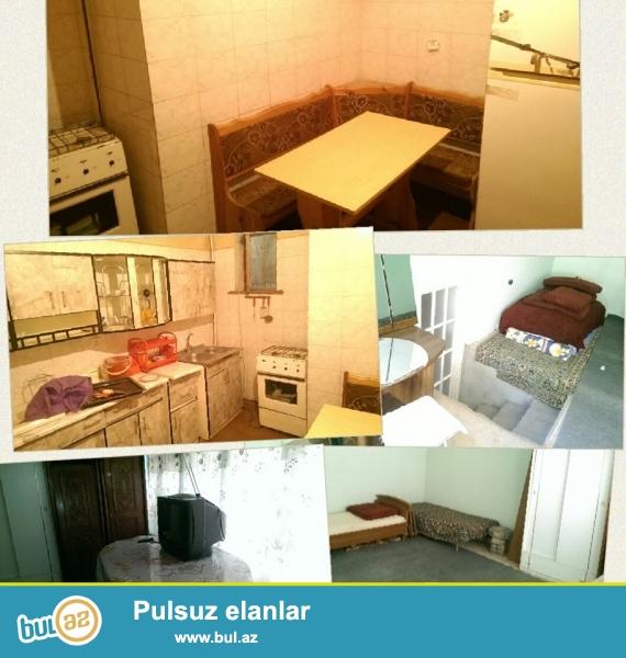 Emlər m. yaxınlığında kirayə 1 otaqlı həyət evi əşyaları ilə birlikdə verilir...
