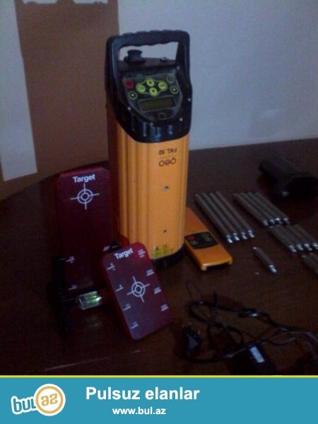 Geo fannel fkl 50 lazerlə tarazlıq ölçmə aparatı...