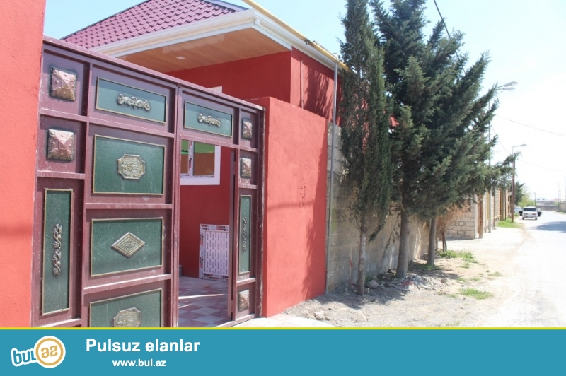 Sabuncu rayonu, Mastaga qesebesi Memmedyarov kruqundan 400-metr arali olan teze-tikili, qosa-dasla tikili, yerden 6-das kursulu olan tam-temirli 3-otaqli heyet evi...