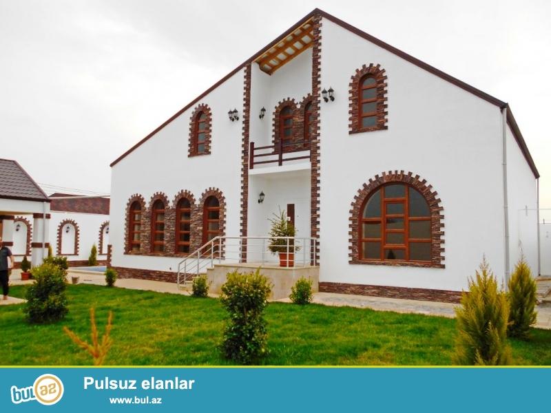 **РУФАТ*АЙНУР** СРОЧНО продается новопостроенная дом-дача в Мардакане у новой трассы, 1-но этажный дом расположен на 6ти сотах, 4 комнаты, 170 кв...