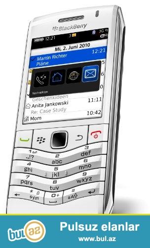 Yeni Blackbery 9105 white mobil telefonu<br /> Made in Mexico istehsalıdır<br /> Telefon yenidir və orginal bağlamadadır<br /> Ciddi real alıcı zəng edə bilər<br /> Çatdırılma xidməti mövcuddur