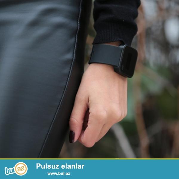 Up watch Black:paslanmayan polatdan korpus,silikon demer,suya davamlı,sensorlu ekran,mineral şüşe,saat,saniye...