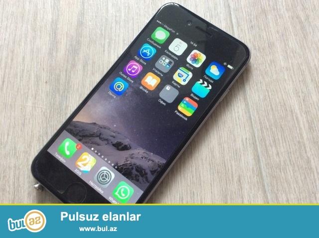 iPhone 6 aliram. veziyyete gore qiymet deyisir. 450-550 arasi