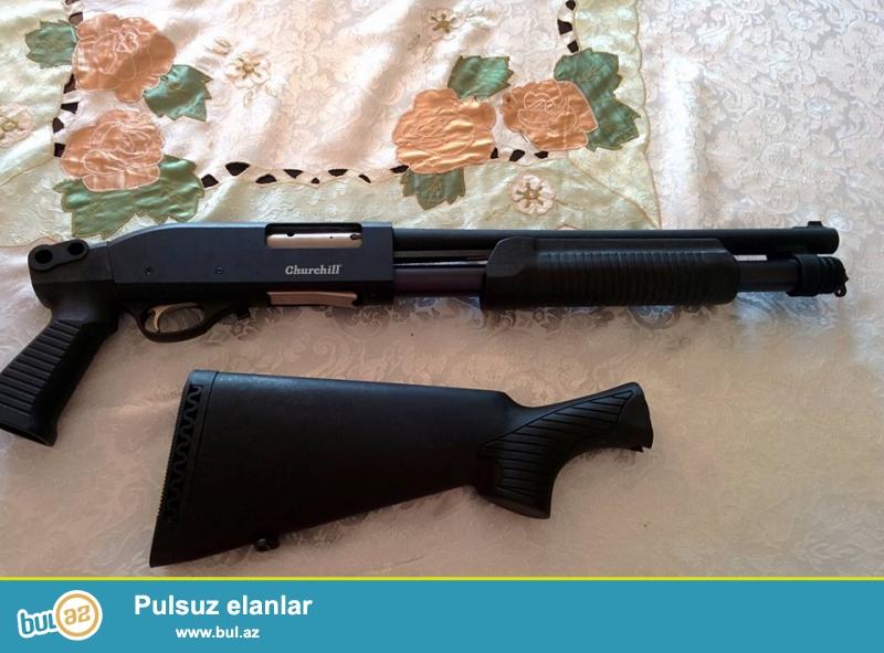 Churchill Magnum (Vinçester) ov silahı satılır...