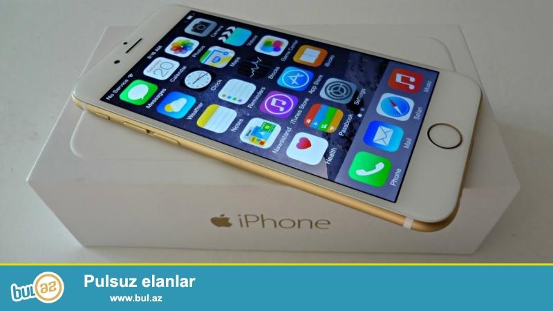 salam.iphone 6 gold 128 gb.tecili satiram.