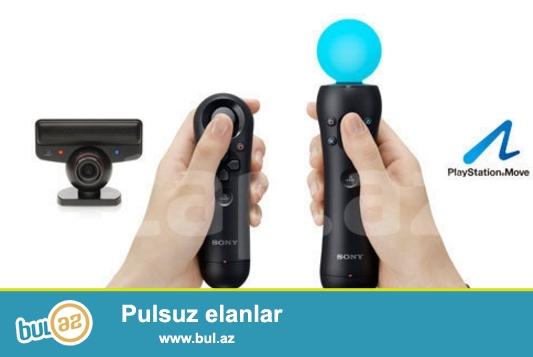 Playstation3 ucun maraqli eylence , Kamera mikrafon , Move ,Navigator cox serfeli qiymete ...