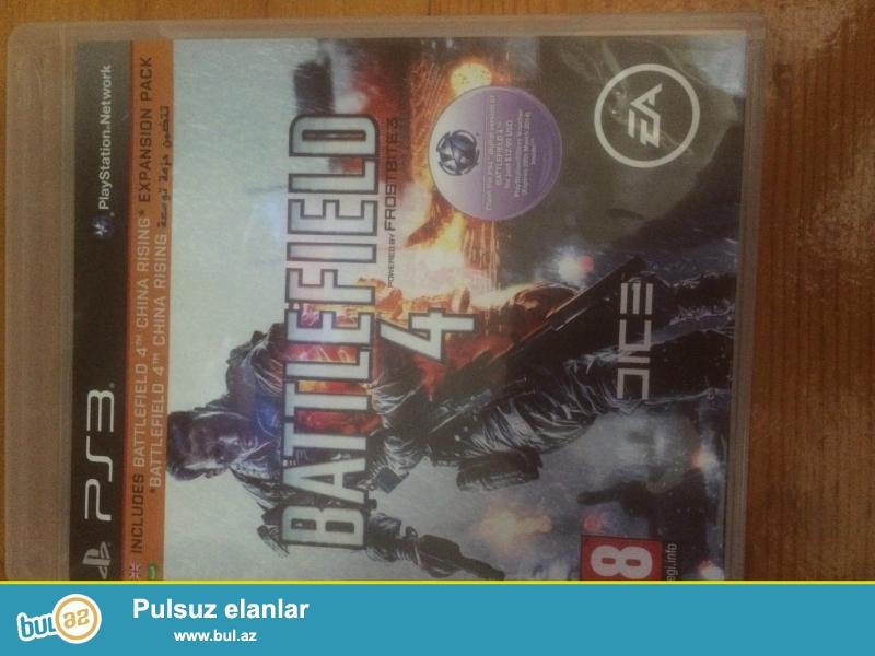 Batllfield 4(full rus)  PS3 ucun 30 azn .Real aliciya endirim olacag...